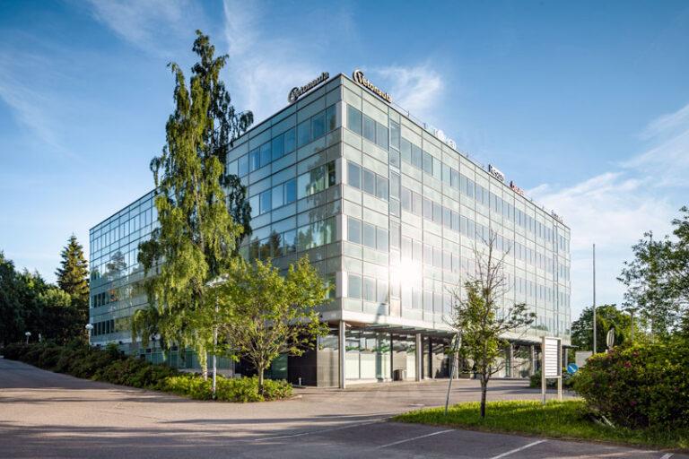 Sinihelmi Vuokrattavat toimitilat Espoo julkisivukuva